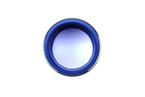 JDM Station Textured Mirror Trim Knob Blue - Subaru Models (inc. 2015+ WRX / 2014+ Forester)