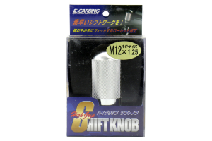 Carbing High Grip Shift Knob Silver M12x1.25 ( Part Number:CA3 321 120 0)