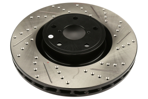 Stoptech Drilled and Slotted Rotor Pair Front (Part Number: )