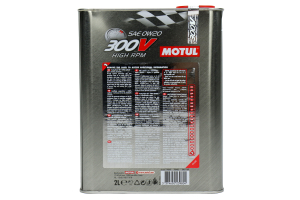 Motul 300V High RPM 0W20 Engine Oil 2.1qt (Part Number: 104239)