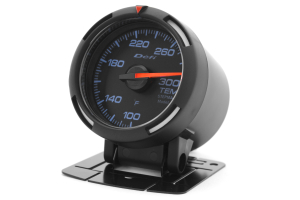 Defi White Racer Temperature Gauge Imperial 52mm 100-300F (Part Number: )