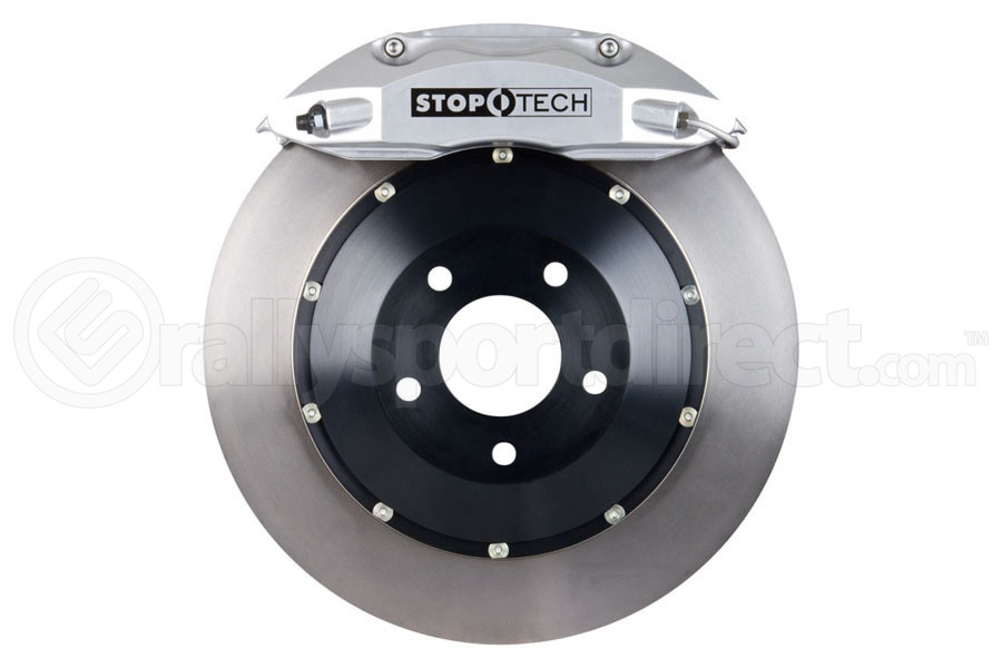 Stoptech ST-40 Big Brake Kit Front 332mm Silver Flat Rotors (Part Number:83.839.4600.60)