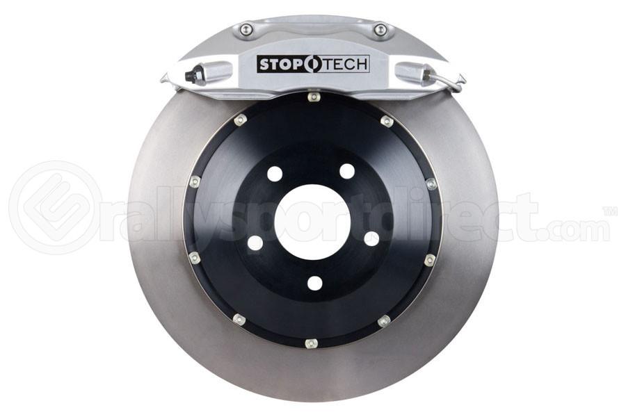 Stoptech ST-40 Big Brake Kit Front 332mm Silver Flat Rotors ( Part Number:STP 83.839.4600.60)