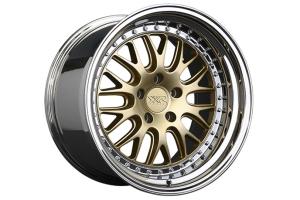 XXR 570 5x114.3 Hyper Gold / Platinum Lip - Universal