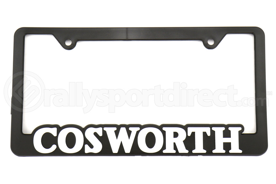 Cosworth License Plate Frame Black (Part Number:30006010)