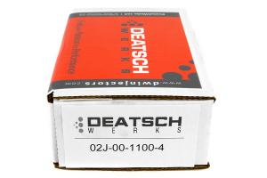 DeatschWerks Fuel Injectors Side Feed 1100cc ( Part Number:DET 02J-00-1100-4)
