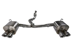 Corsa 3in Cat Back Exhaust System w/ Polished Tips - Subaru WRX / STI 2015+