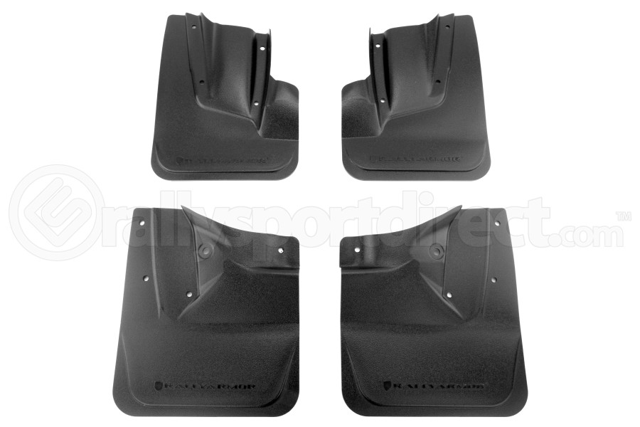 Rally Armor OE Classics Mudflaps Black (Part Number:MF30-OEC-BLK)