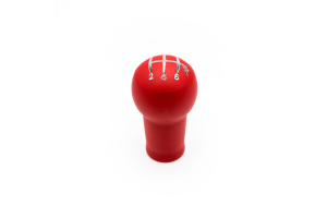 Raceseng Prolix Red Texture Shift Knob w/ Engraving (Part Number: )