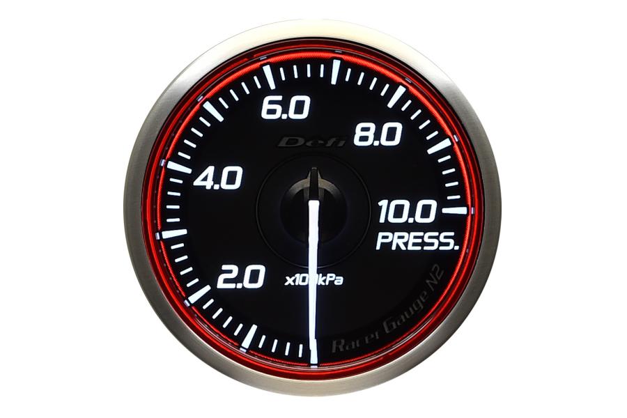 Defi DF Racer Pressure Gauge 60mm - Universal
