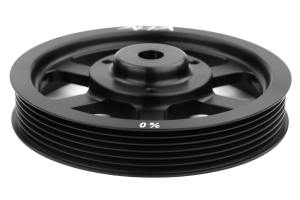 Alta Crank Pulley Black (Part Number: AMP-ENG-500)