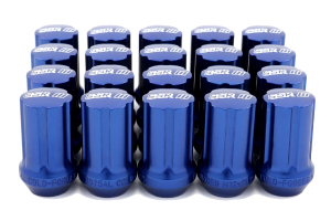 SSR GT Forged Aluminum Lug Nuts Blue 12x1.25 (Part Number: )