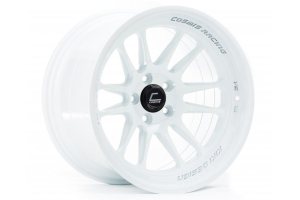Cosmis Racing Wheels XT-206R 17x9 +5 5x114.3 White - Universal
