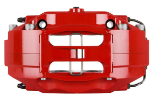 Stoptech ST-40 Big Brake Kit Front 355mm Red Zinc Drilled Rotors ( Part Number:STP 83.838.4700.74)