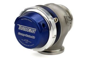 Turbosmart Comp-Gate40 Wastegate Blue ( Part Number:TBS TS-0505-1003)