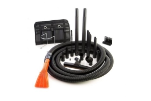 Metrovac PRO-83BA-CS Full Size Vac 'n Blo w/ Accessories and 30' Hose - Universal