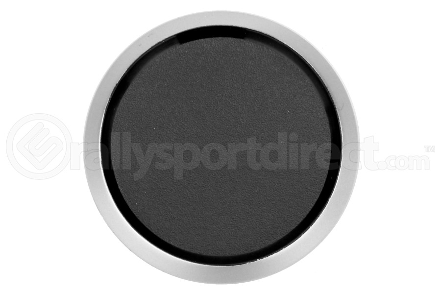 ProSport Gauge Blank Black w/ Silver Ring 52mm (Part Number:PS-52BLNK-S)