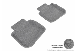 3D MAXpider Rear Classic Floor Mats - Subaru Legacy / Outback 2010 - 2014