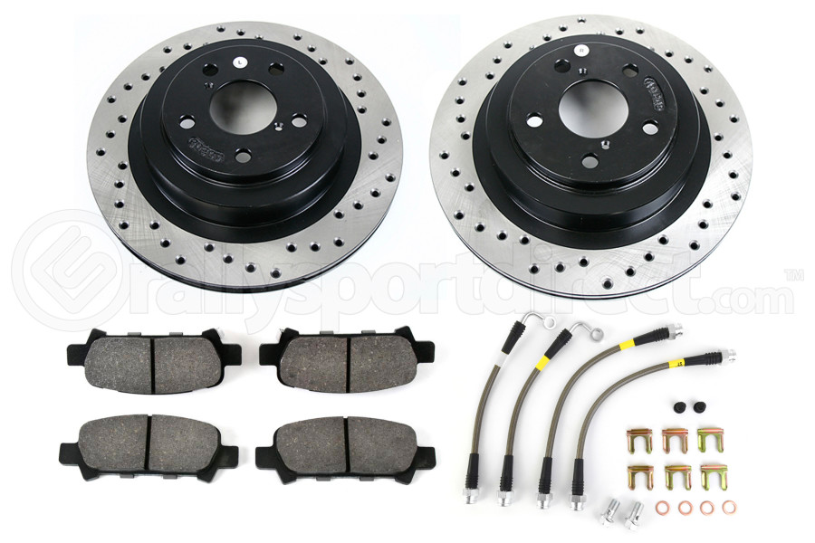 Stoptech Sport Kit Drilled Rear (Part Number:979.47010R)