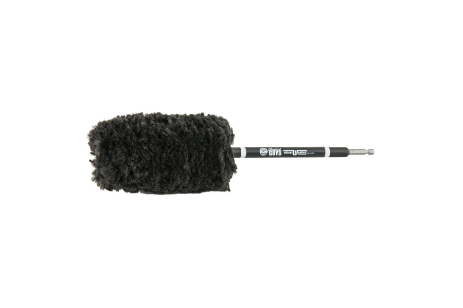 Chemical Guys Power Woolie Synthetic Microfiber Wheel Brush w/ Drill Adapter - Universal