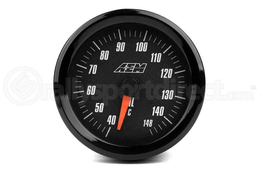 AEM Oil/Transmission/Coolant Temperature Gauge Analog Metric 52mm ( Part Number:AEM 30-5140M)