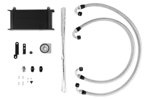 Mishimoto Oil Cooler Kit Black ( Part Number: MMOC-STI-08BK)