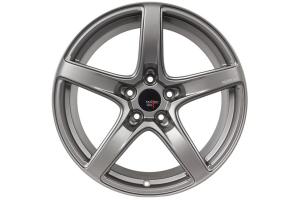 Option Lab Wheels R555 18x8.5 +35 5x114.3 Noble Grey - Universal
