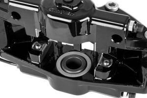 Stoptech ST-22 Big Brake Kit Rear 345mm Black Slotted Rotors (Part Number: )
