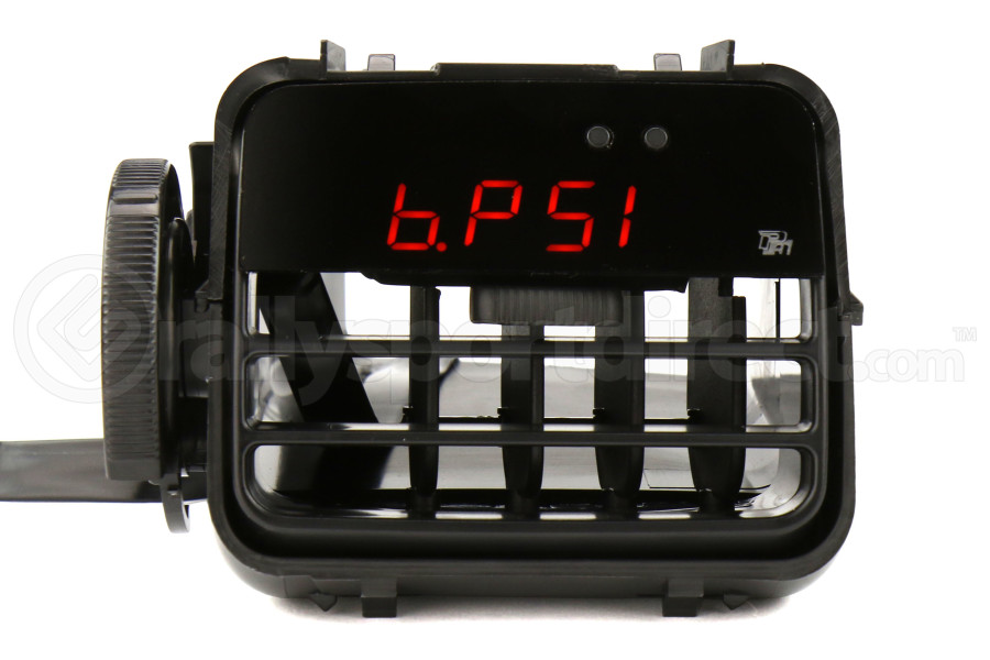 P3 Gauges Vent Integrated Boost Gauge w/ Black Vent Housing (Part Number:LBP3S7SX-B)