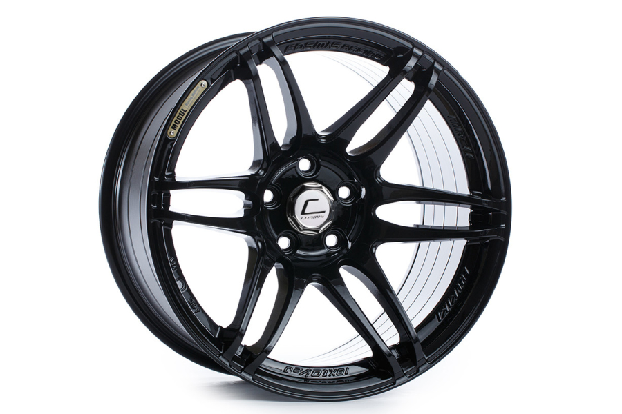 Cosmis Racing Wheels MRII 18x9.5 +15 5x114.3 Black - Universal