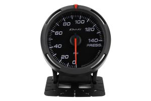 Defi White Racer Pressure Gauge Imperial 60mm 140 PSI ( Part Number:DEF1 DF11603)