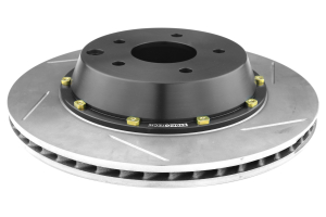 Stoptech 2-Piece Aerorotor and Hat 322x32 Slotted Left Rear ( Part Number:STP 129.42079.13)