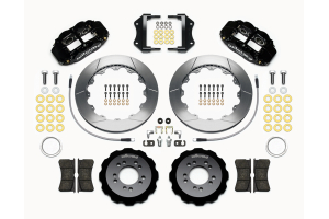 Wilwood FNSL6R 12.88in Front Kit Black - Ford Focus ST 2013+