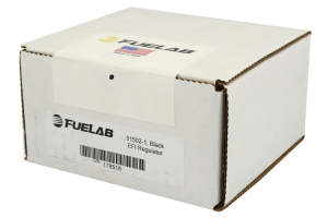 Fuelab Adjustable Fuel Pressure Regulator Black ( Part Number:FUL 51502-1)