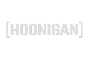 HOONIGAN Small Die Cut Cbar Sticker White - Universal