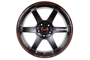 VOLK Racing TE37 SAGA Time Attack 18x10 +34 5x114.3 Black - Universal
