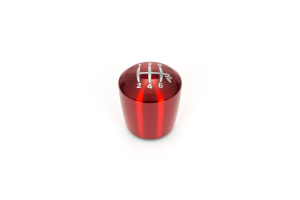 Raceseng Ashiko Red Translucent Shift Knob w/ Engraving (Part Number: )