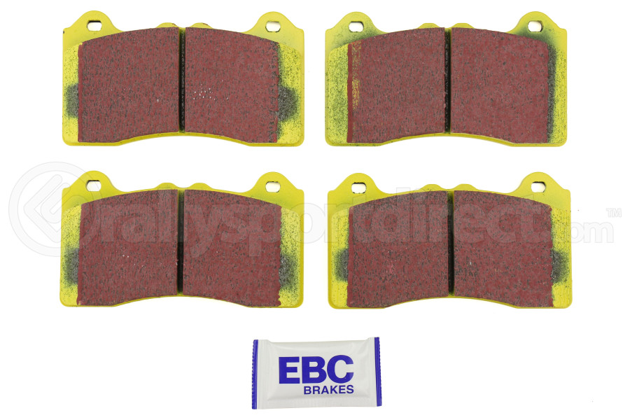 Disc Brake Pad Set-Yellowstuff Street And Track Brake Pads Front fits Ford Focus
