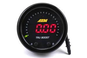 AEM Tru-BoostX Boost Controller Gauge - Universal