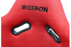 Seibon Carbon Kevlar Racing Seat Red - Universal