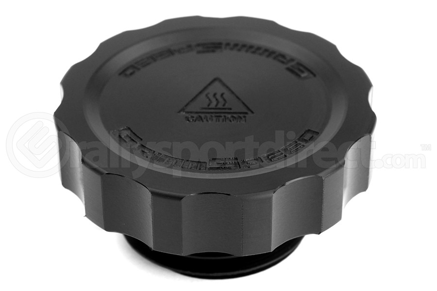 GrimmSpeed Cool Touch Delrin Oil Cap Black (Part Number:120006BK-D)