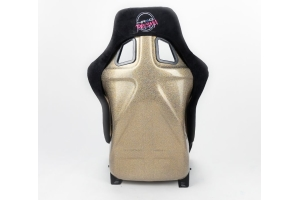 NRG Innovations FRP ULTRA Large Competition Alcantara Seat Black - Universal