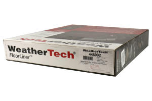 Weathertech Rear Floorliner Set Black - Ford Mustang 2015-2017