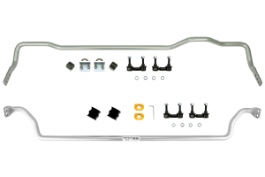 Whiteline Front and Rear Sway Bar Kit - Subaru Forester 2003-2008