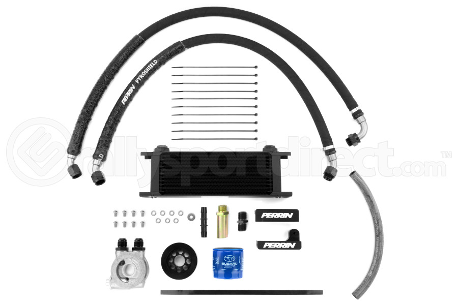 PERRIN Oil Cooler Kit (Part Number:PSP-OIL-099)
