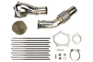 Tomei Expreme Downpipe Big Mouth - Mitsubishi Evo X 2008-2015