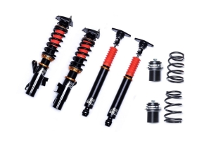 SF Racing Sport Coilovers w/ Front and Rear Rubber Mounts 10K/8K Springs - Subaru STI 2008 - 2014