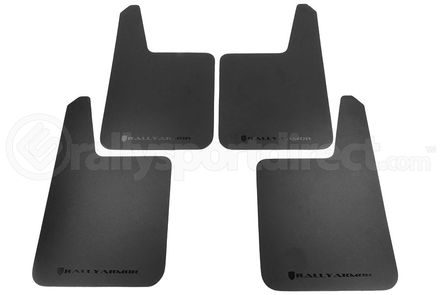 Rally Armor Basic Plus Universal Mud Flaps (Part Number:MF20-BAS-BLK)