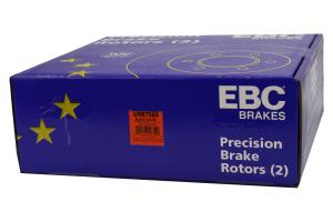 EBC Brakes USR Series Sport Slotted Rear Brake Rotors - Subaru/Scion Models (inc. 2013-2016 Scion FR-S / 2013+ Subaru BRZ)