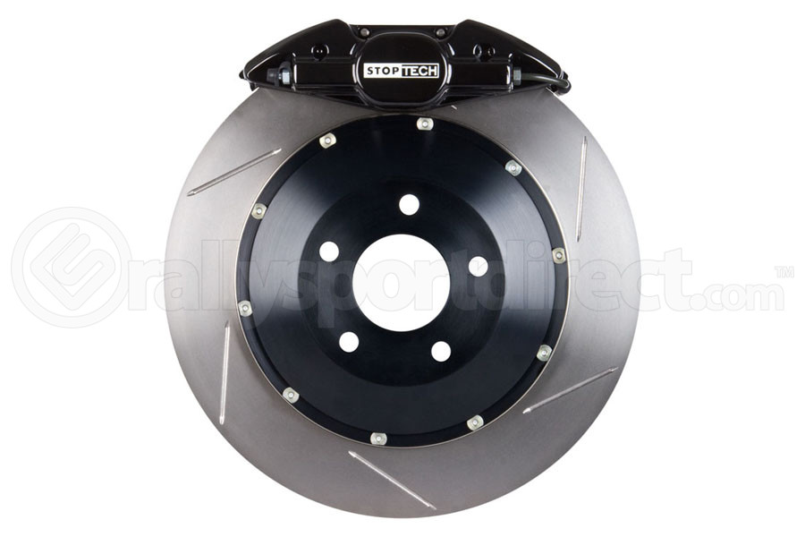 Stoptech ST-22 Big Brake Kit Rear 328mm Black Slotted Rotors ( Part Number:STP 83.839.0023.51)